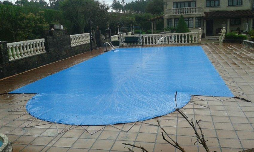 Cubiertas para piscinas toldos compostela - Piscinas santiago de compostela ...